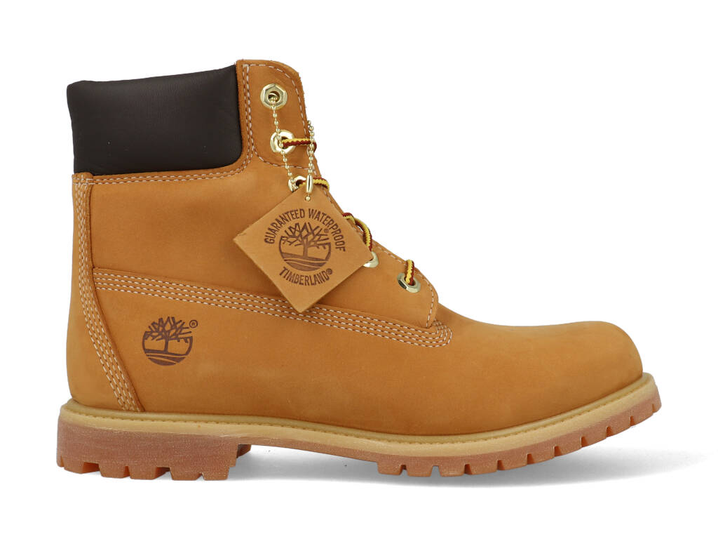 Enkellaarsjes Timberland 6in prem wheat