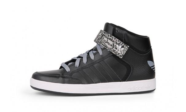 Adidas Varial Mid Leather Zwart G98139