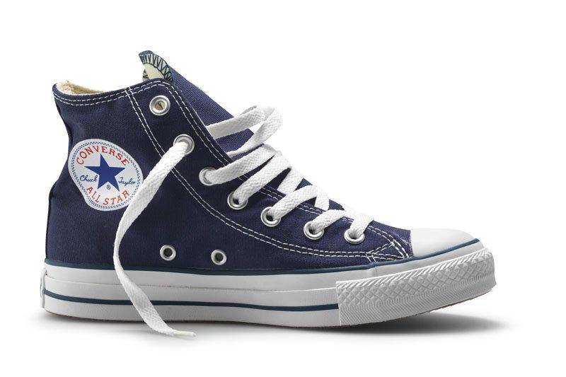 Converse All Stars Hoog Blauw (Mt 35 t/m 46)