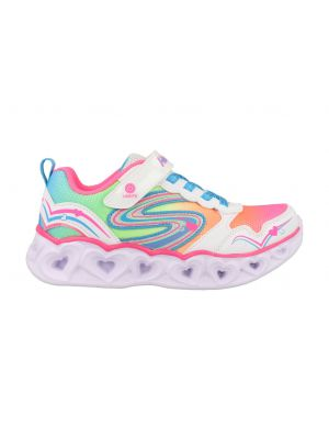 Skechers Heart Lights 20294L/WMLT Wit
