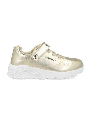Skechers Uno Lite Chrome Steps 310453L/GLD Goud