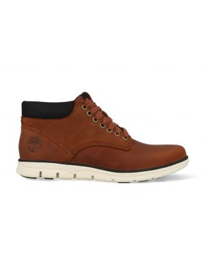 Timberland Chukka Leather Boots CA13EE Bruin Cognac