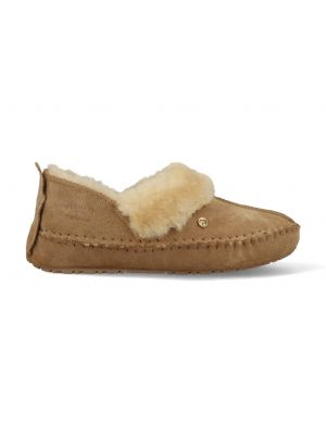 Warmbat Pantoffels Barrine BAR341026 Camel Bruin