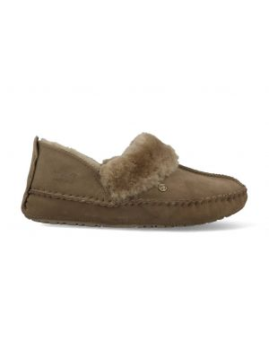 Warmbat Pantoffels Barrine BAR341032 Moss Groen