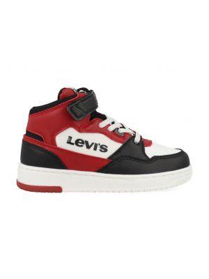 Levi's Sneakers BLOCK MID VEL K VIRV0012T Zwart / Rood