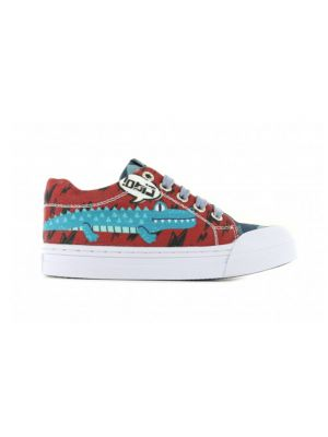 Go Banana's Sneakers GB_ALLIGATOR-L Blauw / Rood