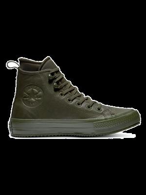 Converse All Stars Hoog Leather Waterproof 162501C Groen