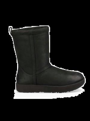 UGG Classic Short Leather 1017509/BLK Zwart