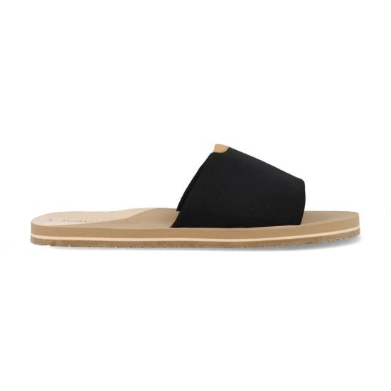 Toms Slippers Carly 10016553 Zwart