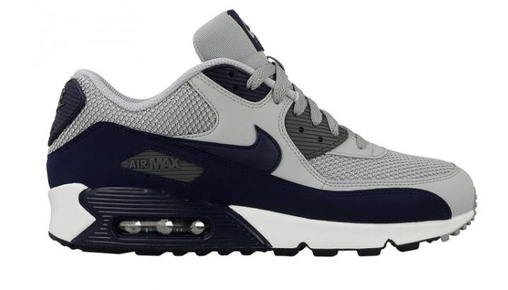 Nike Air Max 90 Essential 537384-064 Blauw Grijs