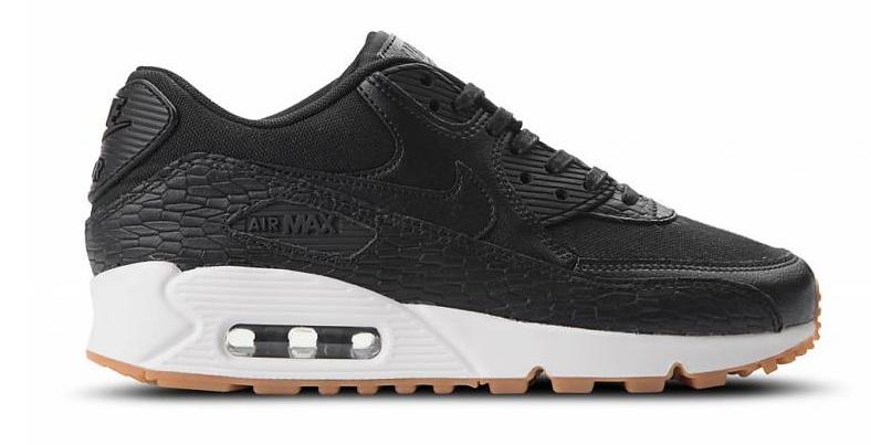 Nike Air Max 90 Premium Leather 904535-001 Zwart