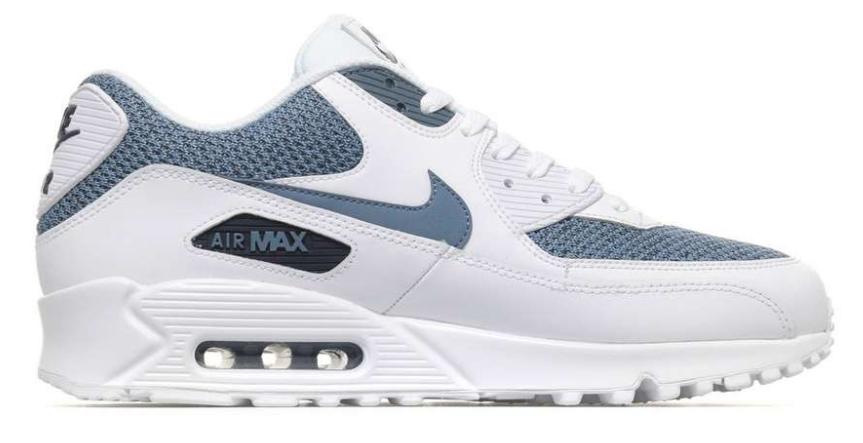 Nike Air Max 90 Essential 537384-133 Wit Blauw