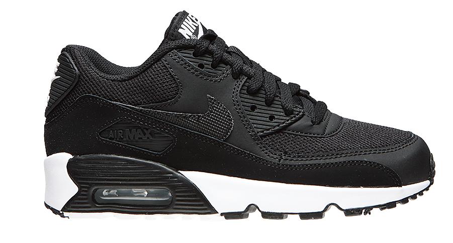 Nike Air Max 90 Mesh 833418-017 Zwart Wit