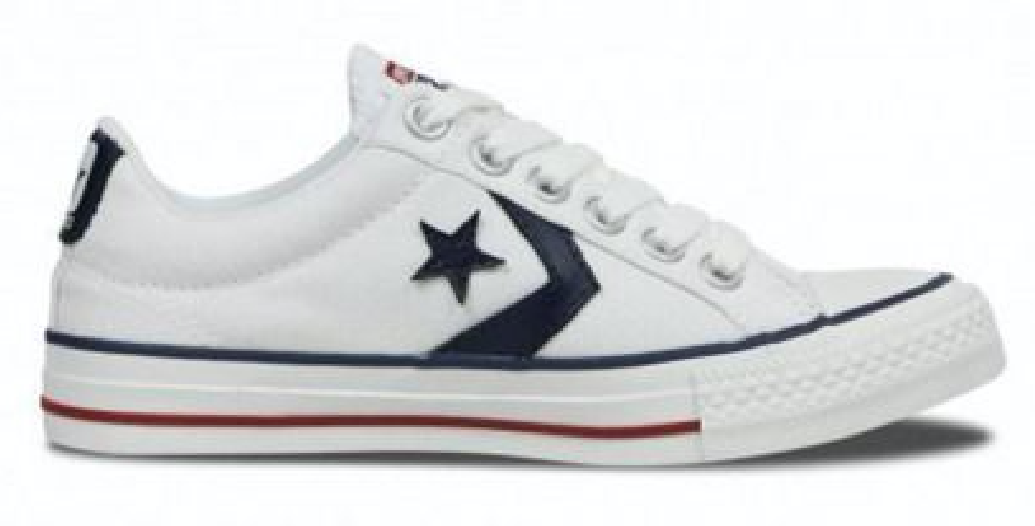 Converse Star Player 144151c Wit Navy