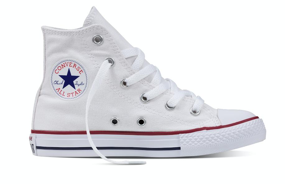 Converse All Stars Hoog 3J253c Wit