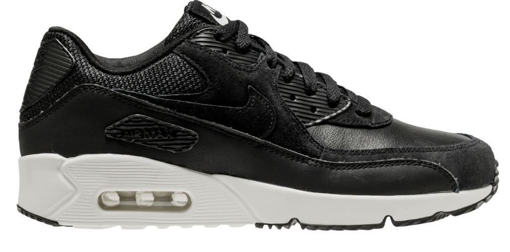 Nike Air Max 90 Ultra 2.0 Leather 924447-001 Zwart