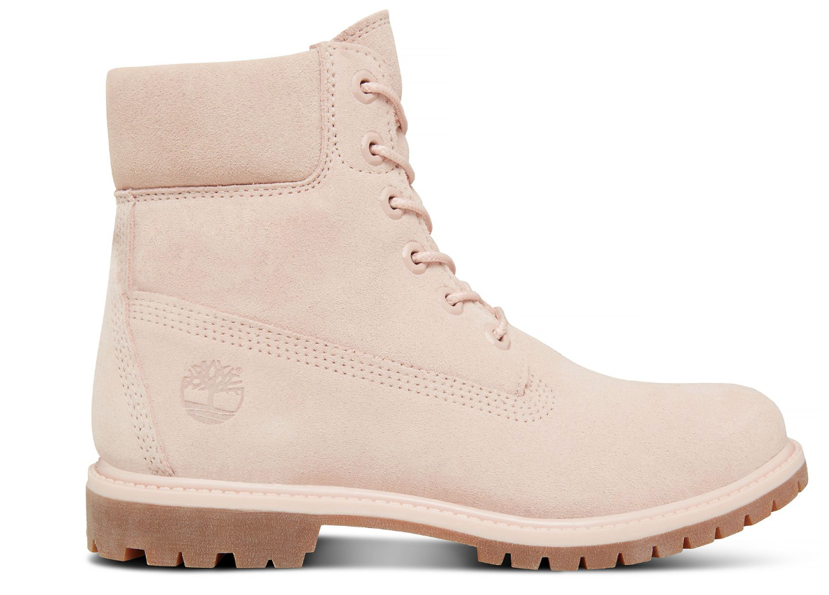 Timberland Dames 6-Inch Boots A1P7C Pastel Roze