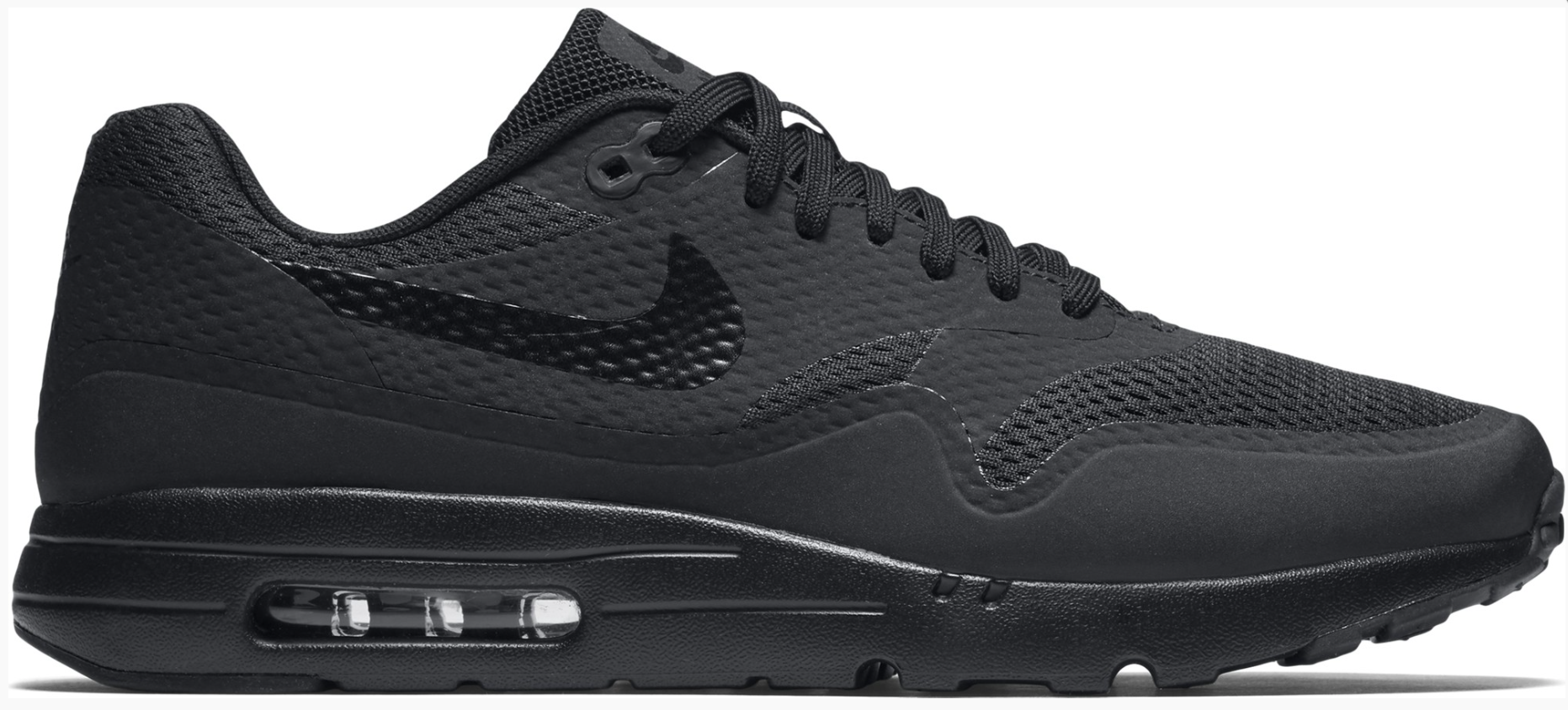 Nike Air Max 1 Ultra Essential 819476-001 Zwart