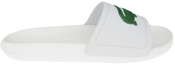 Lacoste slipper met Logo 7-37CMA0018082 Wit/Groen-39.5