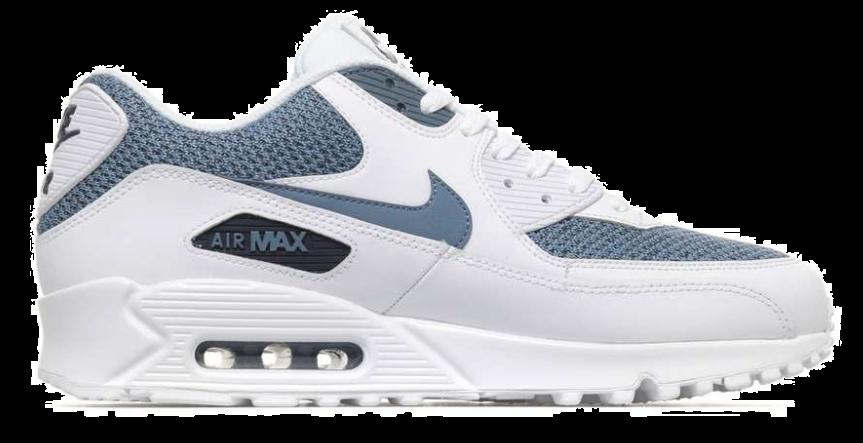 buy online e8a97 4fbdf Nike Air Max 90 Essential 537384-133 Wit Blauw
