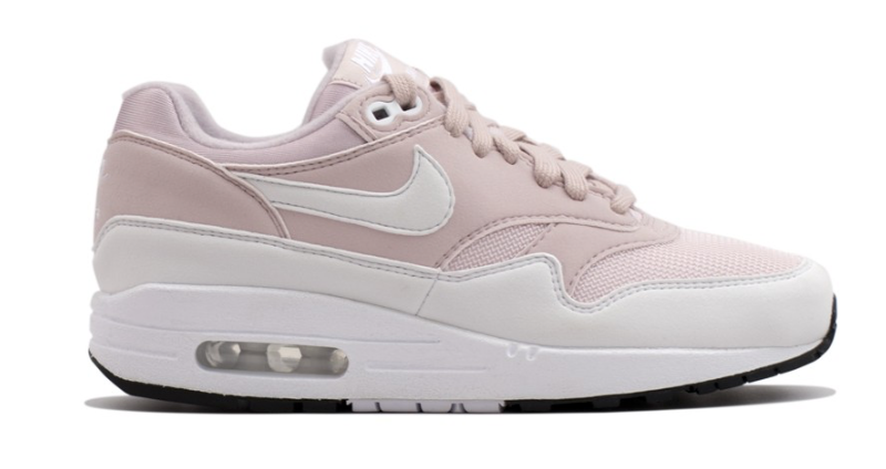 nike air max wit roze blauw