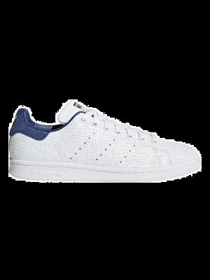 b1cc3c4028f Adidas Stan Smith CQ2819 Wit Blauw