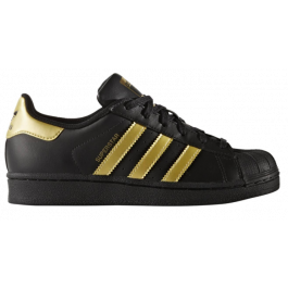 ca4a9d82454 Adidas Superstar Originals BB2871 Zwart Goud