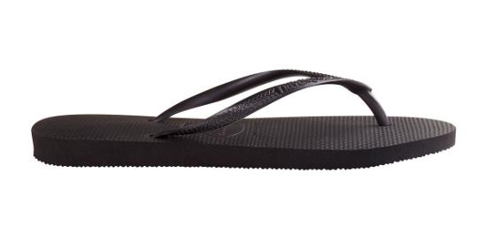 Havaianas Slippers Flipflops Slim Zwart