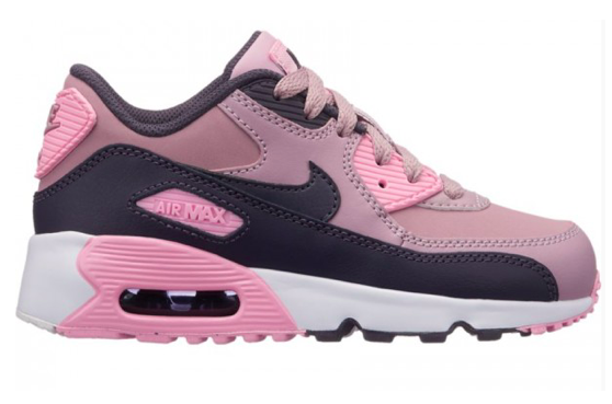 Nike Air Max 90 Leather PS 833377-602 Roze Paars-27.5
